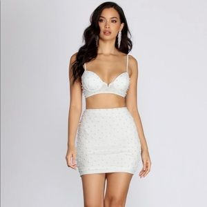 PEARL MINI SKIRT